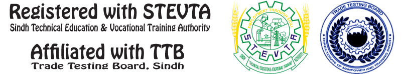 The Protec is registered with STEVTA and Affiliated with TTB Sindh